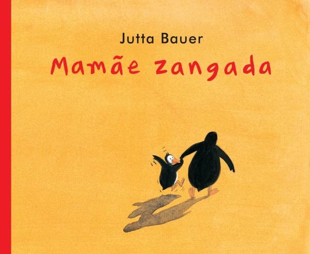 Capa do livro Mamãe Zangada (Mamãe Zangada book cover)